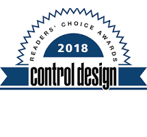 Kollmorgen Stepper Motors Recognized as 2018 Control Design Readers' Choice