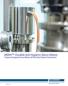 AKMH™ Durable and Hygienic Servo Motors