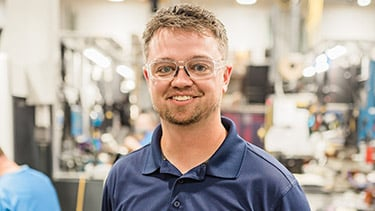 CJ Snider, Manufacturing Engineer Tech II