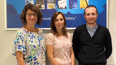 Sabrina Caccin, Annalisa La Rocca, Andrea Calloni