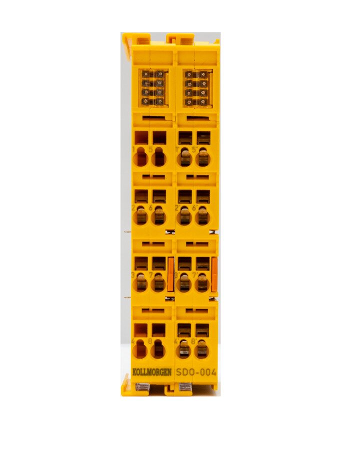4-channel digital output terminal, Safety