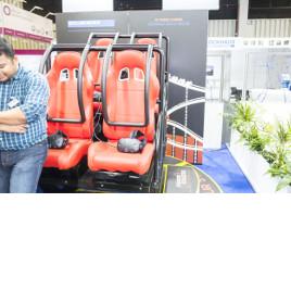 Kollmorgen sps ipc drives 2017 Rollercoaster