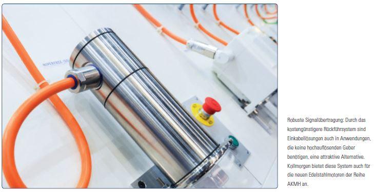 All-in-one: Ein Kabel für alle Anwendungen | Kollmorgen | Servo ...