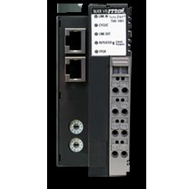 Network adapter-bus coupler medium
