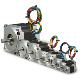 Stepper motors kollmorgen stepping step microstepping for Low profile stepper motor
