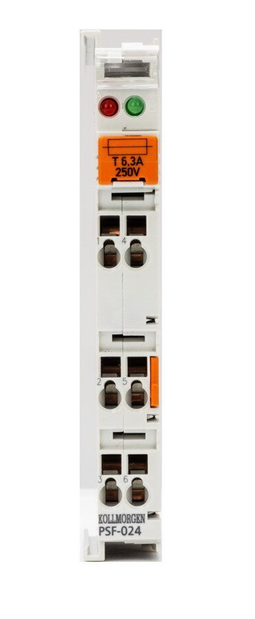 Power Supply Terminal with Fuse
