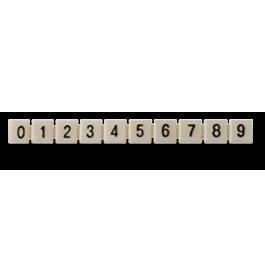 Marcadores (0-9), Branco: TSIO-8008