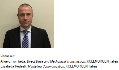 Angelo Trombetta, Direct Drive and Mechanical Transmission, KOLLMORGEN Italien