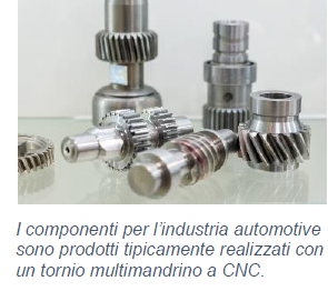 I componenti per l'industria automotive