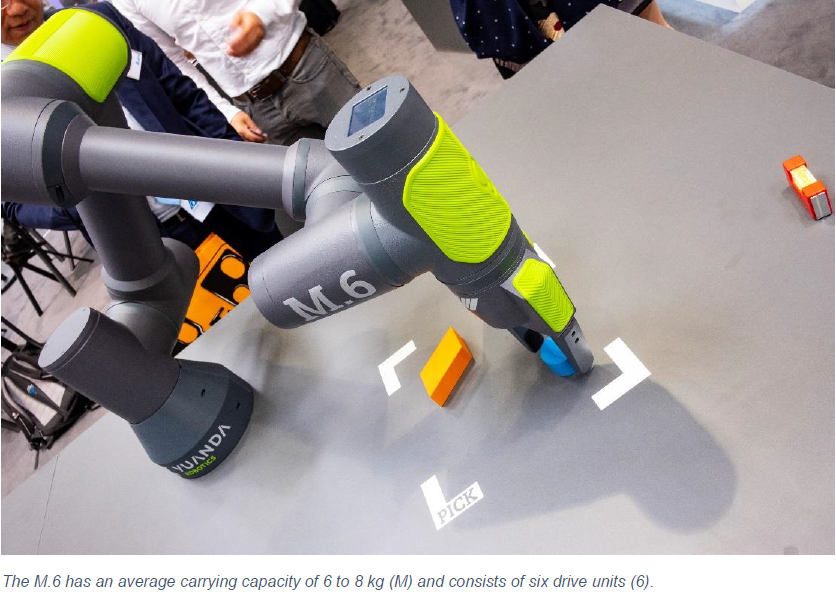 Yuanda Robotics - Hannover: Where The Robots Come From | Kollmorgen