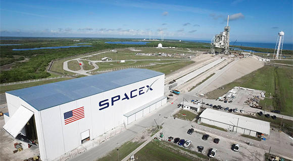 SpaceX at Kennedy Space Center (NASA.gov image)