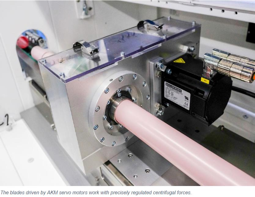 Breyer - Kollmorgen Servo Solution for Tube Extrusion