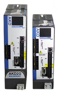 Kollmorgen to Demo New AKD®2G Servo Drive & AKM®2G Servo