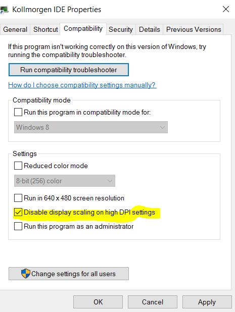 Windows 10 - Win10 Screen Resolution Partial Descriptions Shown