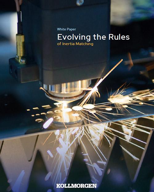 Evolving the Rules of Inertia Matching, Kollmorgen