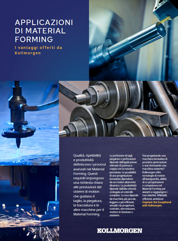 Brochure: Material Forming Applications - The Kollmorgen Advantage