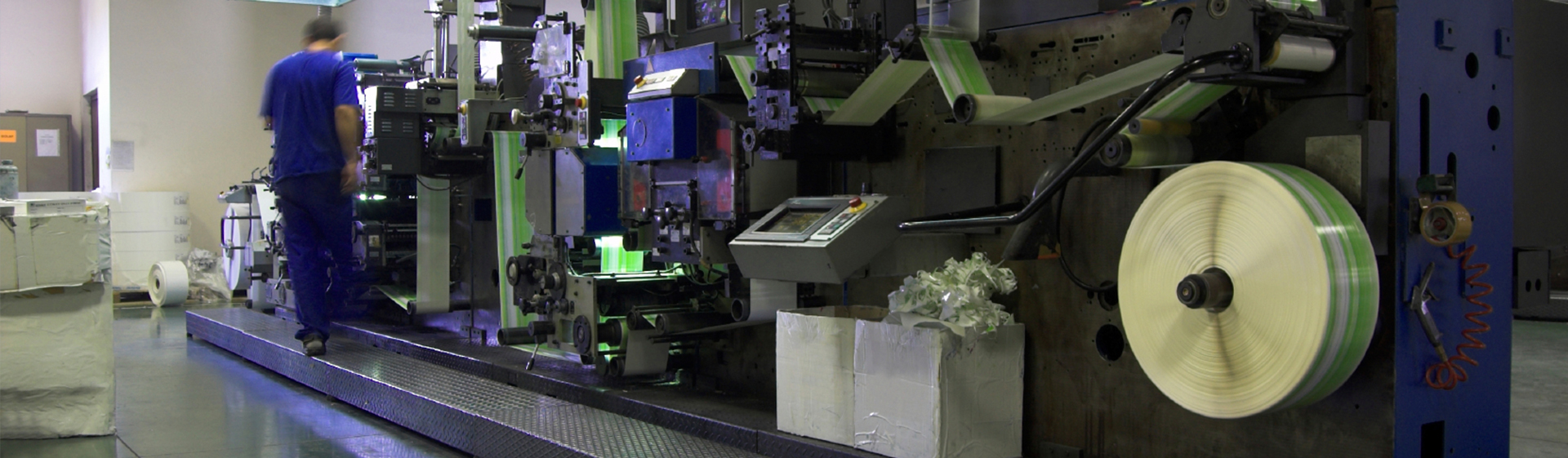 Flexography Printing Motion Control Solutions