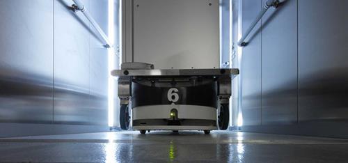 Kollmorgen NDCSolutions, Mobile Robots (AGVs) in Hospital