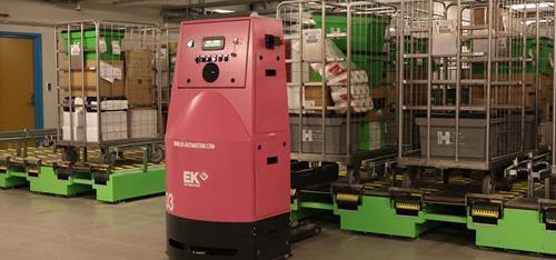 Kollmorgen NDCSolutions, Mobile Robots for Hospitals