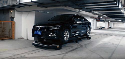 NDC Solutions, Kollmorgen, AGV/FTS Parkroboter