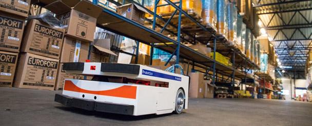 Opteq - Mobil Robotlar - Dahili malzeme akışında otomatik sürüş sistemleri