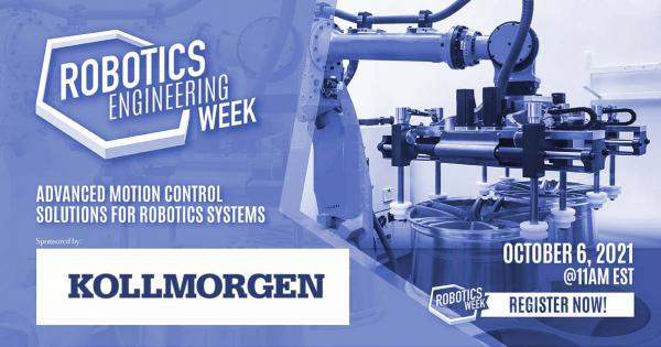 Robotics Engineering Week: Advanced Motion Control Solutions for Robotics Systems