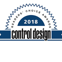 Kollmorgen Stepper Motors Recognized as 2018 Control Design Readers' Choice