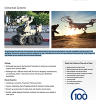 Unmanned Systems Datasheet