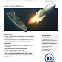 Missiles and Guided Munitions