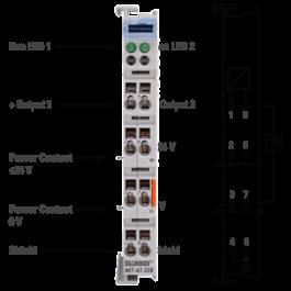 Uscita analogica KAS a 2 canali grande