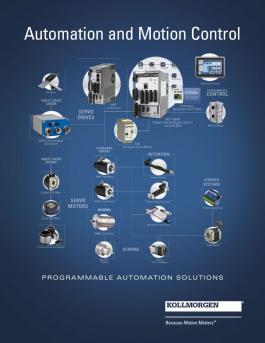 Kollmorgen Automation and Motion Control - Full line catalog