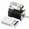 Kollmorgen AKM1 DC Servo Motor Low Voltage Size Comparison_l