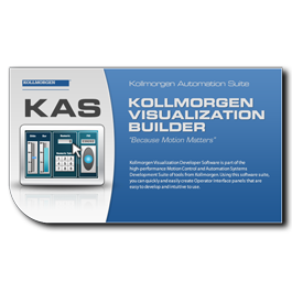 Kollmorgen Visualization Builder with HMI