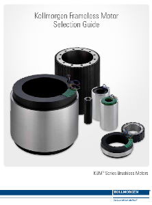Kollmorgen Frameless Motor Selection Guide