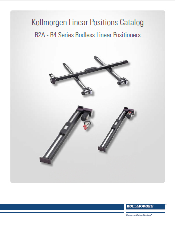 R-Series Linear Positioner Guide cover