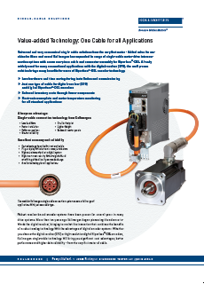 Single Cable Solution Flyer