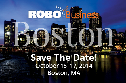 ROBO Business Boston, October 15 - 17, 2014