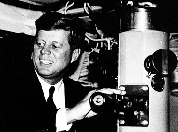 JFK & Kollmorgen-powered periscope