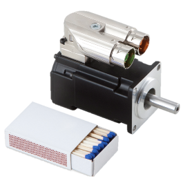 Kollmorgen AKM1 DC Servo Motor Low Voltage Size Comparison_m