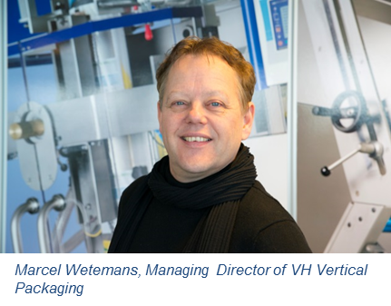 KOLLMORGEN VH Vertical Marcel Wetemans Managing Director VH Vertical Packaging