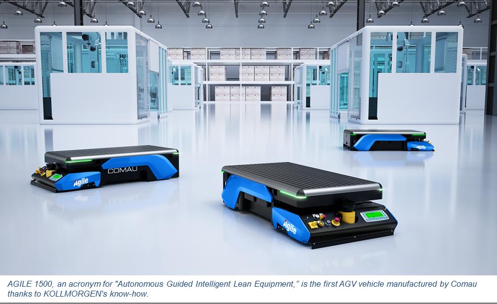 Success Stories Kollmorgen Agv Flexible Solution Smart Factory