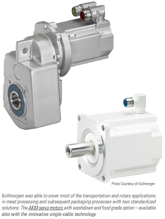 Multivac Relies on Kollmorgen for Pneumatic to Electric Transition
